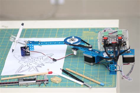 doodle bot drawing robot arduino compatible kit makeblock official