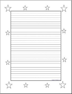 printable writing paper upper elementary writing paper stars upper elementary abcteach