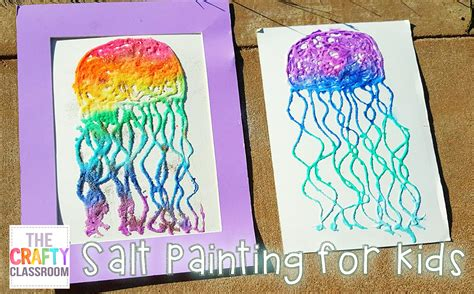 Kids Bedroom by Salt Painting For Summer Art Projects