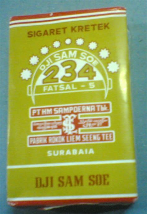 Rokok Dji Sam Soe 1 Pack phenomenal one s cigarettes brands in indonesia