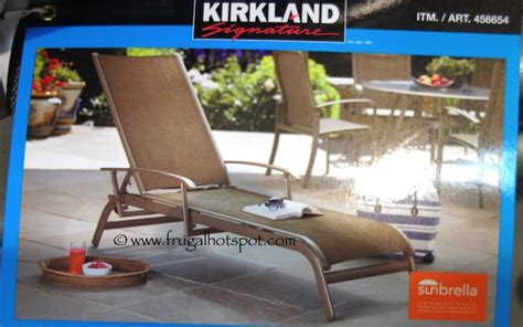 costco chaise costco sling chair fabric replacement chairs seating