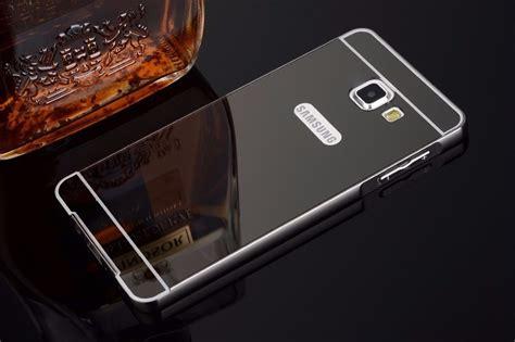 Aluminium Bumper Mirror Samsung Galaxy A710 A7 2016 Limited capinha capa bumper aluminio celular galaxy a7 a710 2016