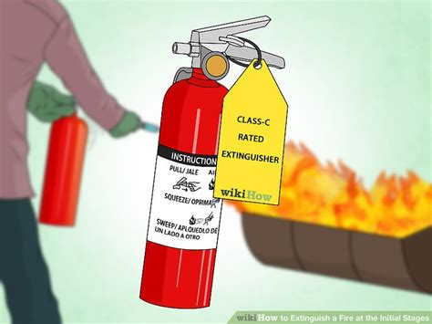 3 ways to extinguish a fire at the initial stages wikihow