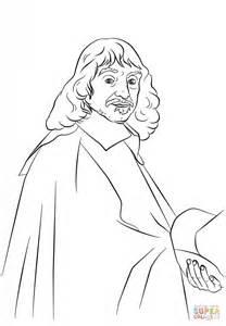 philosophy coloring book review dibujo de ren 233 descartes para colorear dibujos para