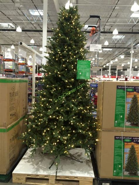 9 ft costco christmas tree pre lit led ez connect dual color trees at costco costcochaser