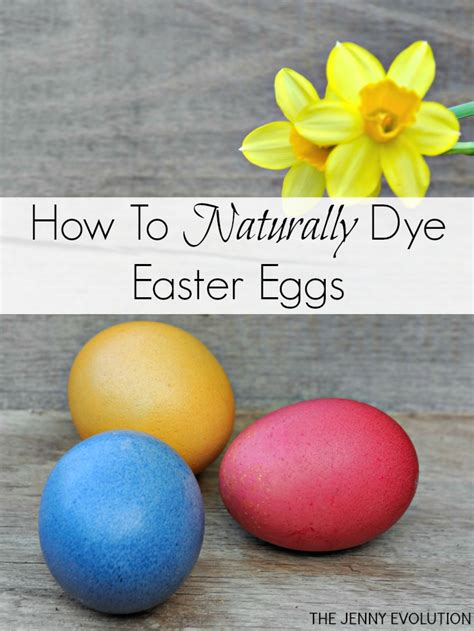 how to make natural easter egg dyes the jenny evolution