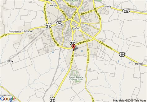 where is lufkin texas on the map map of la quinta inn lufkin lufkin
