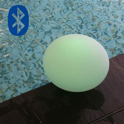 flatball led ball l glowing ball flatball bluetooth 174 jardinchic