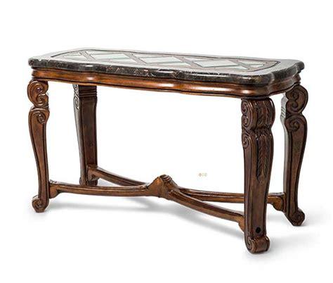 michael amini sofa table michael amini traditional style tuscano melange console