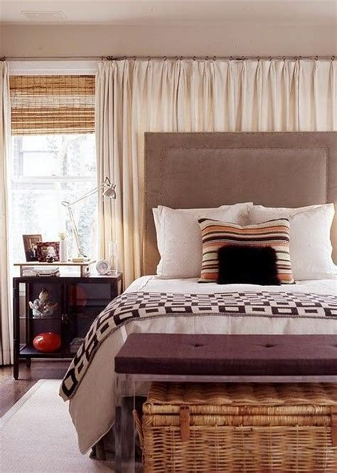 bedroom wall drapes 1000 images about curtains behind bed on pinterest