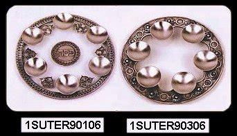 Kipas 100 Handmade mazaltovpages judaica store passover seder plates passover accessories passover