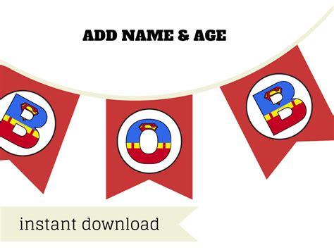 printable superman banner superhero superman banner magical printable
