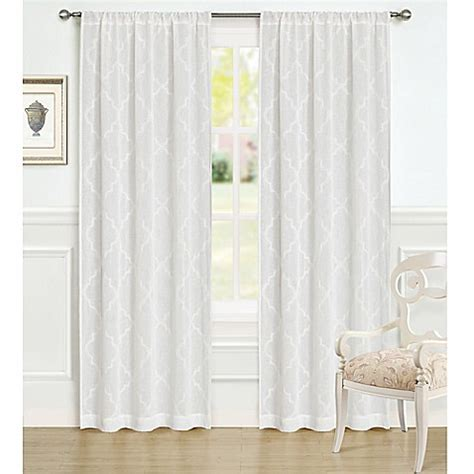 ashley curtains laura ashley 174 84 inch windsor window curtain panel pair