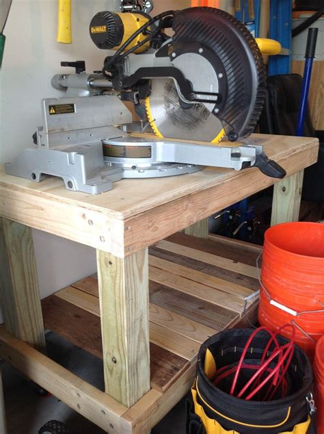 diy rolling workbench  post legs  frame pallet