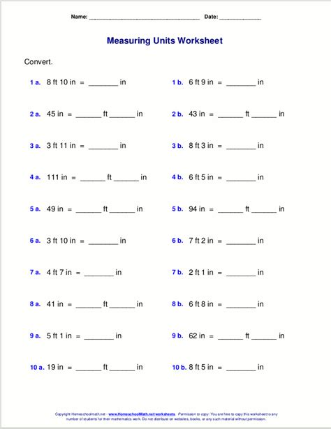measurement worksheets pdf free grade 5 measuring worksheets