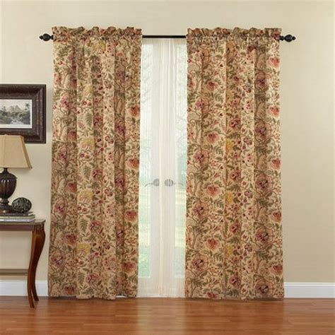 discount waverly curtains waverly imperial dress curtain panel walmart com