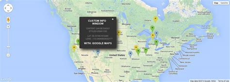 Design Infowindow Google Map | custom google maps info windows art logic custom