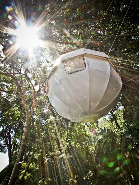 hanging tent cocoon tree bed a luxury tent getaway