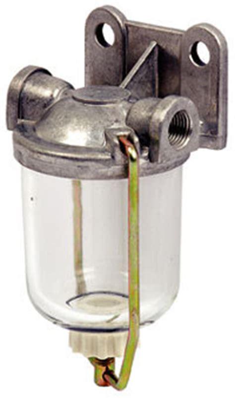 fuel filter bowl complete left