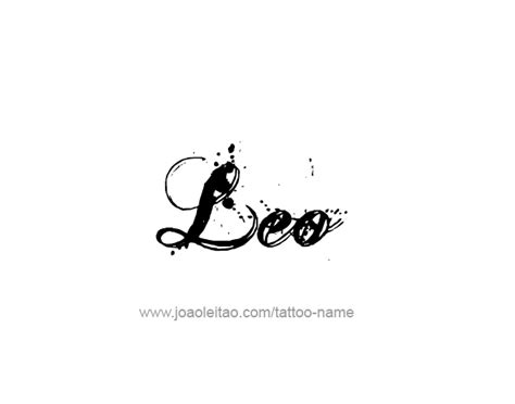 leo tattoo lettering leo horoscope name tattoo designs page 5 of 5 tattoos