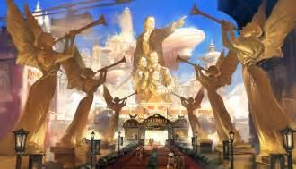 Bioshock Infinity Bioshock Infinite Concept By Ben Lo Concept World