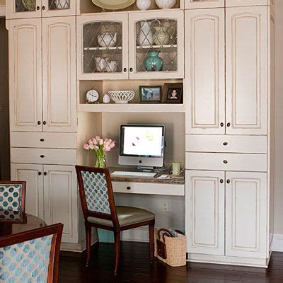 kitchen cabinet desk ideas cabinets and countertops kitchen fit for a crowd built