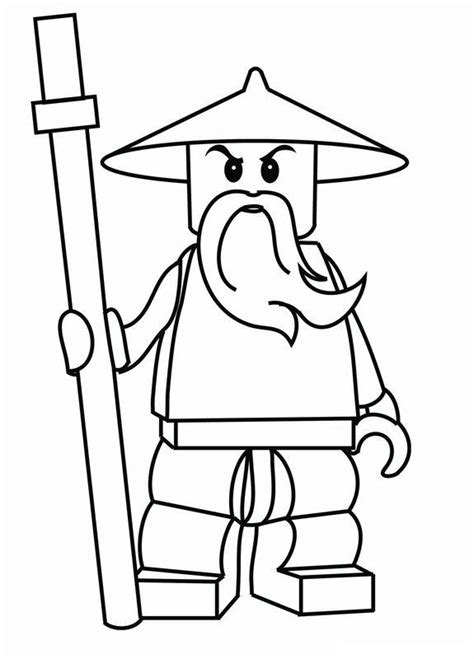 Lego Ninjago Coloring Pages Free Printable Lego Ninjago Coloring Pages