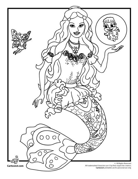 barbie swimming coloring pages 29 best images about barbie mermaid party on pinterest