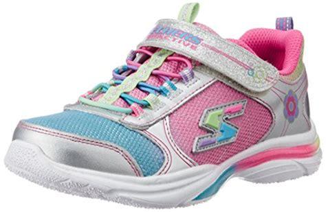 light up game shoes skechers kids girls game kicks light up sneaker little