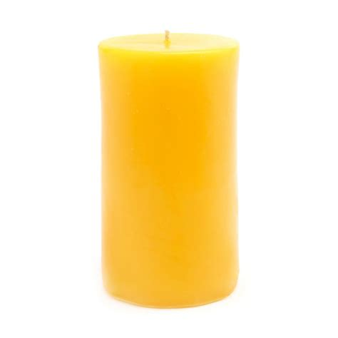 Colored Candles Lemon Yellow Colored Candle