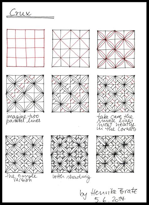 zentangle pattern crusade 472 best zentangle patterns images on pinterest