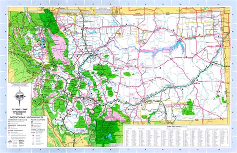 montana county map maps of montana counties with cities