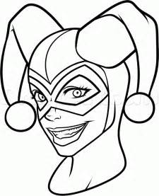 Step 12 how to draw harley quinn