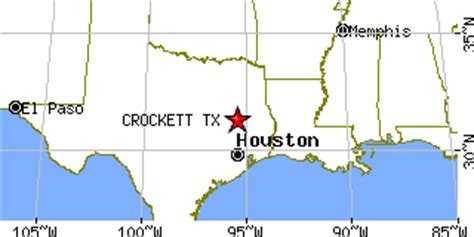 crockett texas map crockett texas tx population data races housing economy