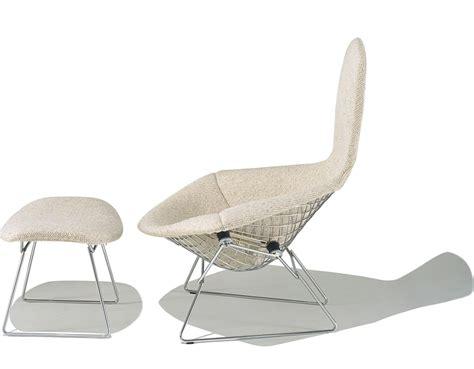 Bird Ottoman Bertoia Bird Chair Ottoman Hivemodern