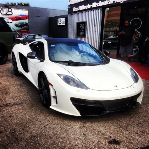 custom mclaren mp4 12c rdb la mclaren mp4 12c customized bumper exhaust etc