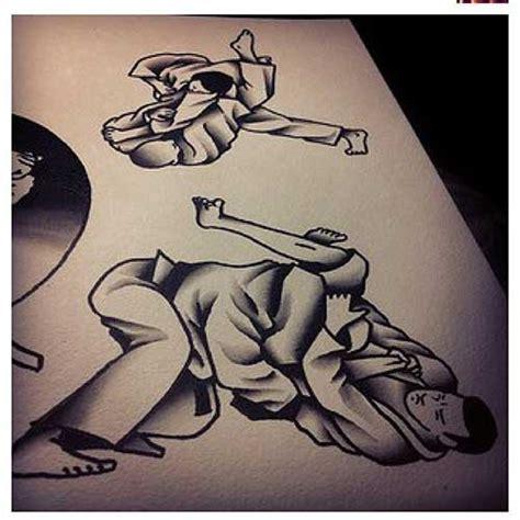 25 imagens de tattoos de jiu jitsu para lutadores