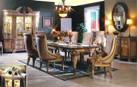 traditional luxury dining room furniture sets  design