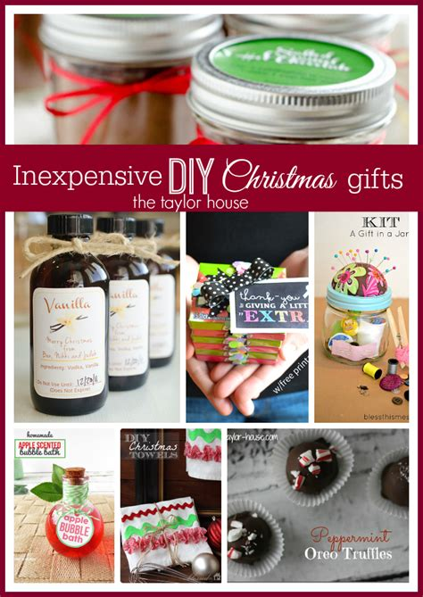 Cheap Handmade Gifts - inexpensive diy gift ideas the house