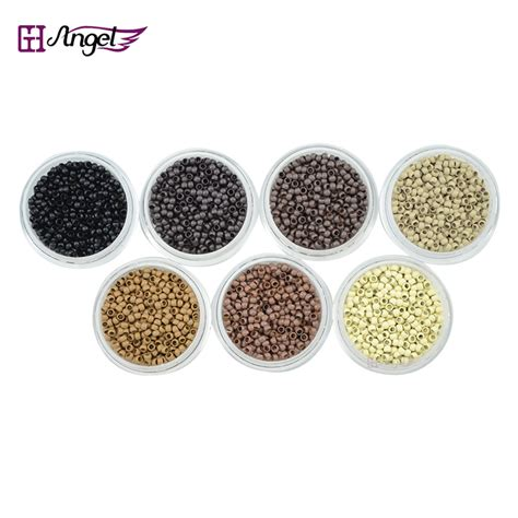 pre bonded i tip for micro links the hair extension boutique wholesale 50000pcs 2 5mm copper nano micro rings links