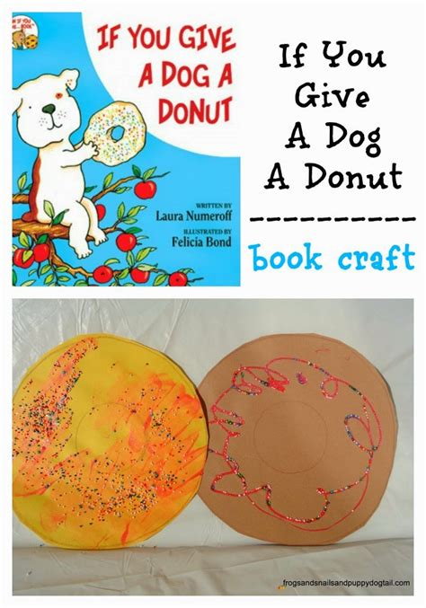 if you give a a donut if you give a a donut book craft fspdt