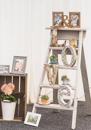 25  best ideas about Ladder wedding on Pinterest   Rustic