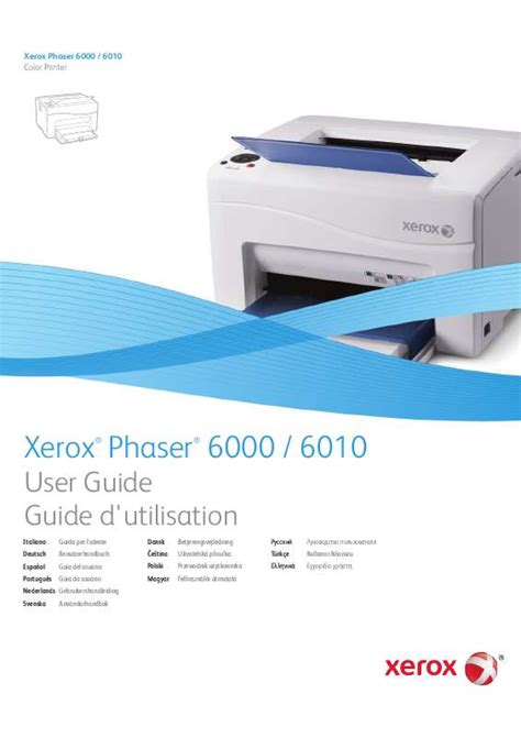 Xerox Cp235w Cover By M mode d emploi xerox phaser 6010 imprimante laser trouver