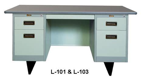 Meja Kantor Besi meja kantor besi berikut laci type l 101 l 103