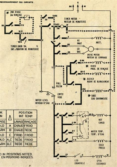 amana washer wiring diagram amana free engine image for