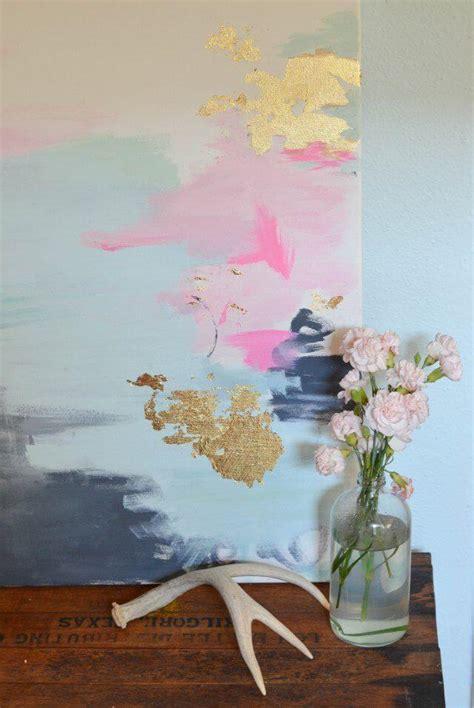 tutorial wall painting tutorial tuesday diy gold artwork