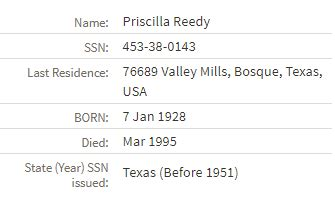 Search Using Social Security Guide To Using Social Security Administration Records Legacy Tree