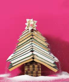 tree books 12 christmas trees made out of books the mary sue