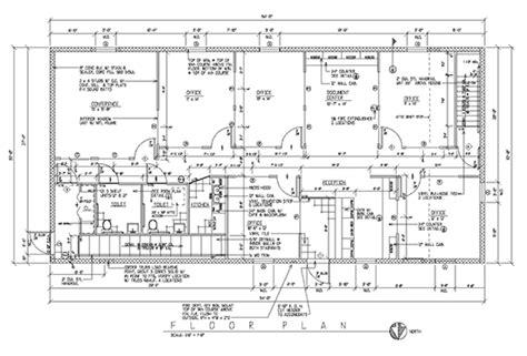 industrial building floor plan r f koester inc building designer commercial