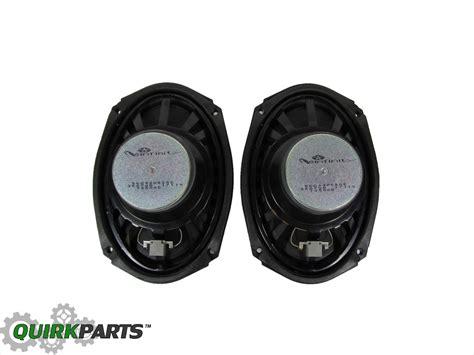 Ram Speaker 02 08 dodge ram 1500 front door infinity speaker set of 2 new mopar 56043082ae